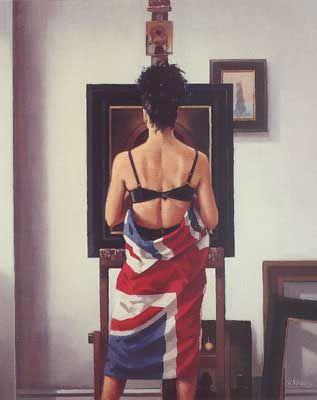 Union Jack by Jack Vettriano
