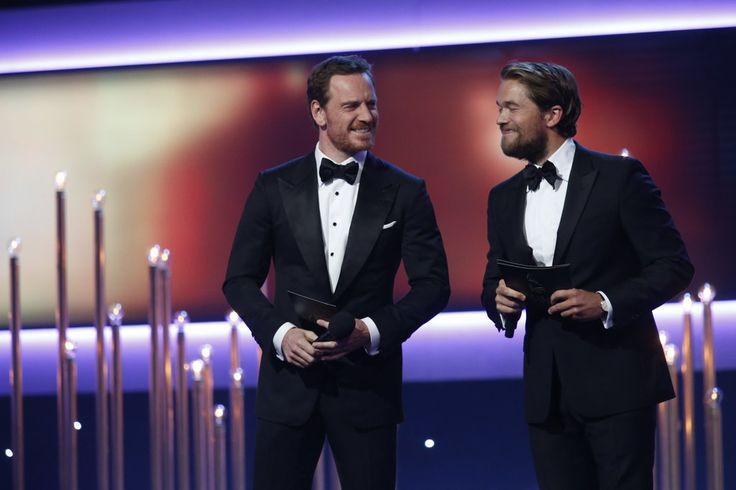 Michael Fassbender and Jacob Oftebro