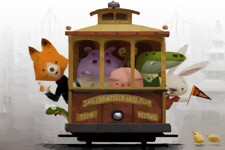 San Francisco Bay Area-made film The Dam Keeper is an official selection in our own backyard! The celebrated San Francisco International Film Festival announced its lineup today, link below to get tickets to Shorts 6! Illustration by Robert Kondo.  http://facebook.com/TheDamKeeper http://www.thedamkeeper.com