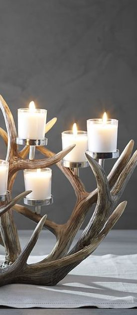 Antler Centerpiece | Christmas Decor