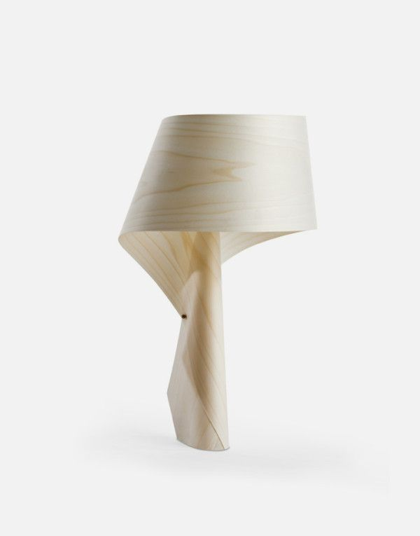 Created By Irish Designer Ray Power For Spain Wood Veneer Lamp Maker LZF,  The Air MG Is A Series Striking Table Lamp Made Of Polywood. Idea