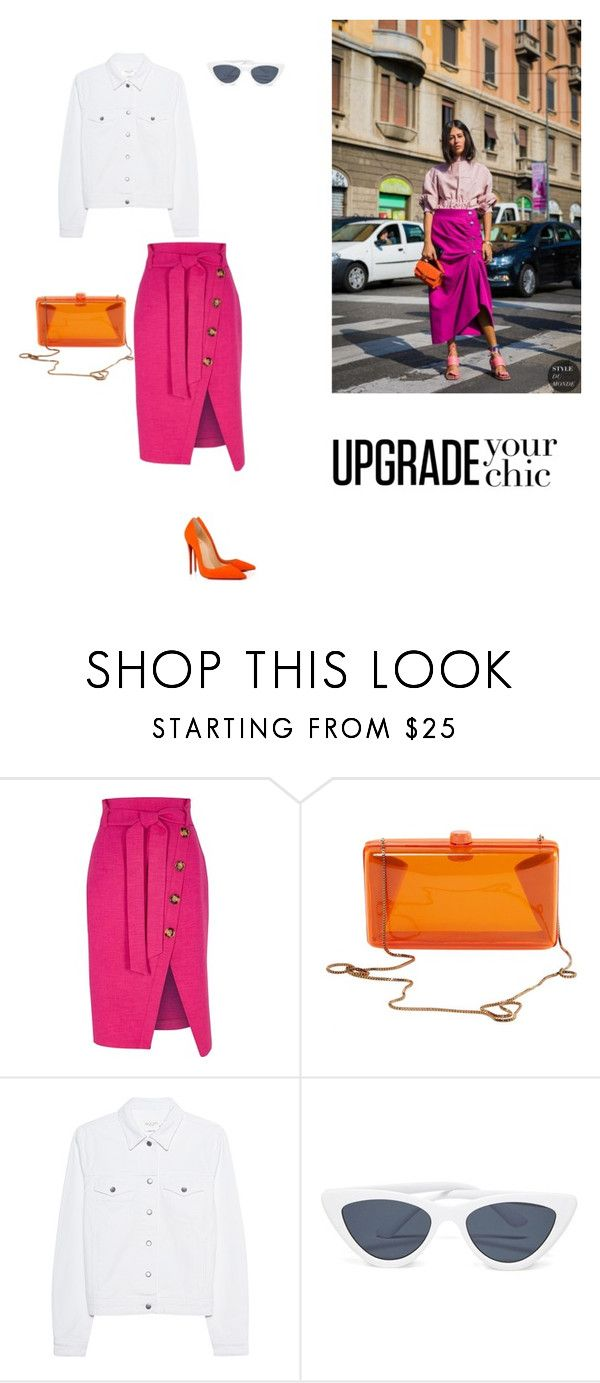 """24/03"" by dorey on Polyvore featuring River Island, STELLA McCARTNEY, rag & bone and Christian Louboutin"