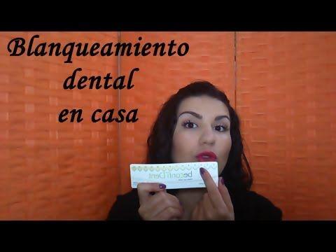 Blanqueamiento dental en casa rápido, barato y efectivo - YouTube