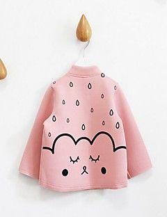 Blusa / Completo e giacca Girl Casual Con stampe Cotone Primavera / Autunno Rosa