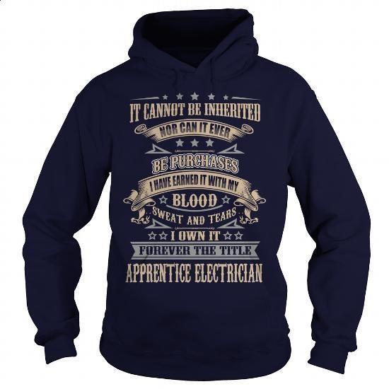Apprentice Electrician - #lrg hoodies #kids t shirts. GET YOURS =>…