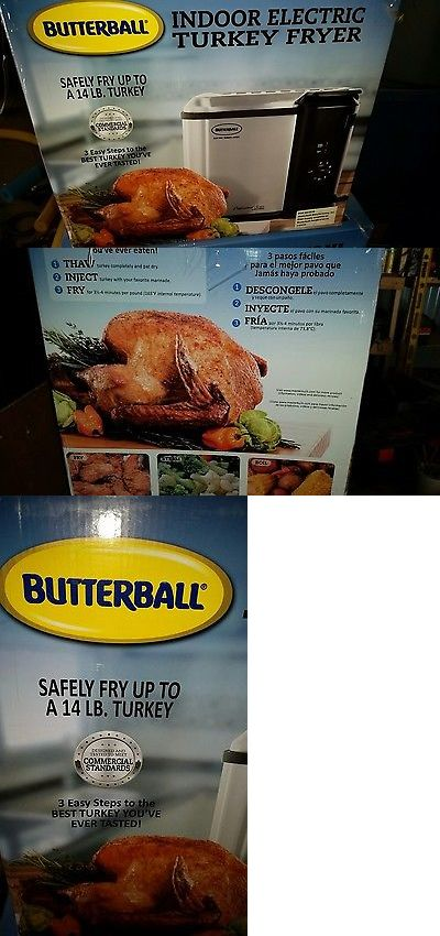 Deep Fryers 20674: Butterball Indoor Electric Turkey Fryer, 14 Lb. Capacity New In Box -> BUY IT NOW ONLY: $60 on eBay!