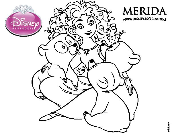 Merida Para Colorear: 59 Best Images About Dibujos De Princesas Disney On