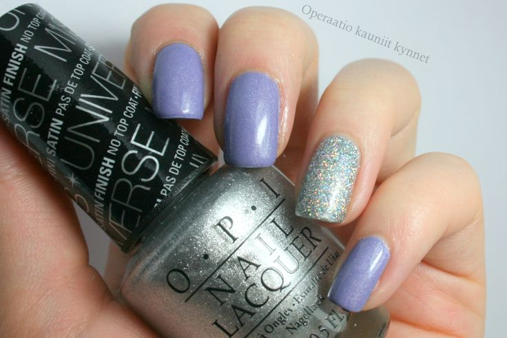 OPI - This Gown Needs A Crown, F.U.N Lacquer - 24 Karat Diamond, piCture pOlish - Eerie