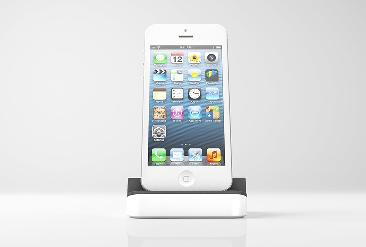 iPhone 5 dock - Dock+ DockPlus
