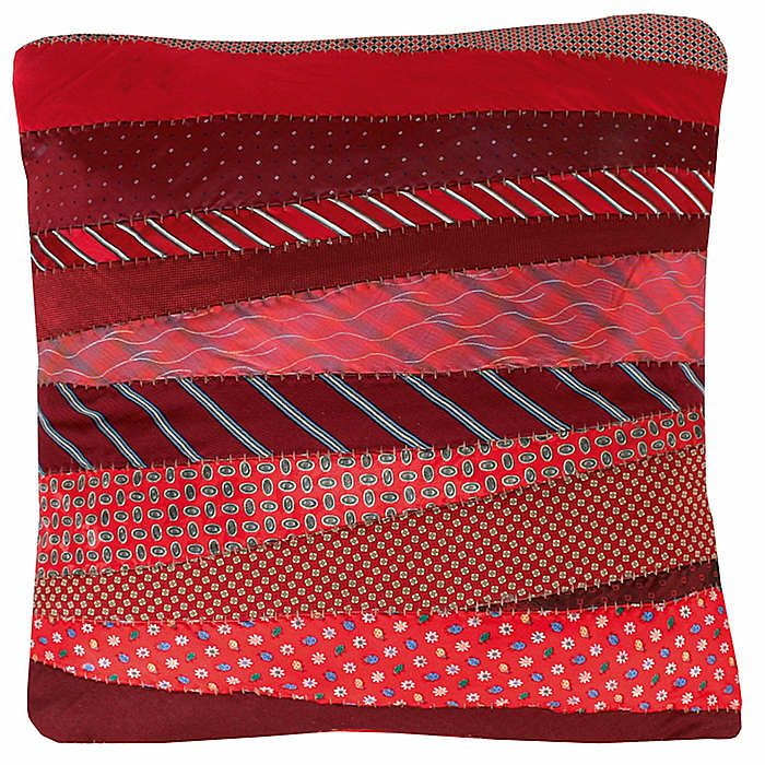 Defining Elegance presents Tie Dec Pillows & Throws - available in two different color combinations in silk.