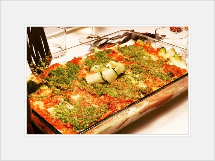 Raw Food-Lasagne