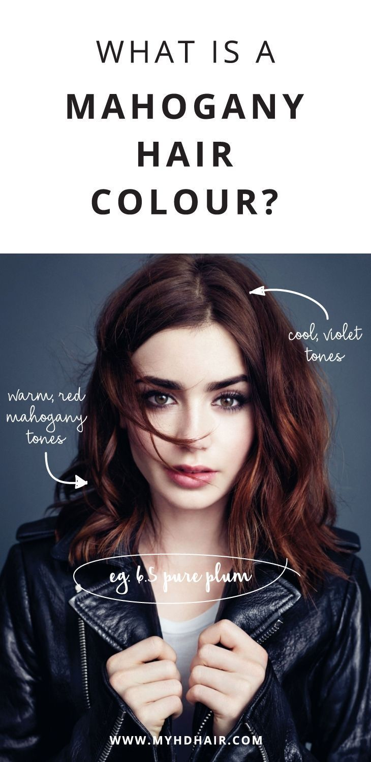 Ask My Hairdresser What is a Mahogany Hair Colour Hair in