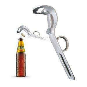 This has to be the latest and coolest gadget, for the coolest barman in the west.EZ One-Handed Bottle Opener's ingenious design means that only one hand is required to hold the bottle, open it and pour it.The bottle top is retained by a neat little magnet which is subtly housed on the inside of your opener, simply...  www.mantality.co.za