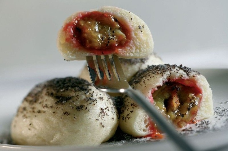 Ovocne Knedliky - Czech Republic fruit dumplings