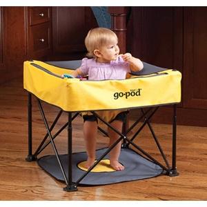 Kidco GoPod Portable Activity Baby Seat (Quicksilver Color)