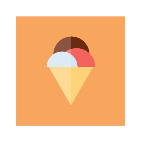 Food Icons by Emanuele Sangalli, via Behance