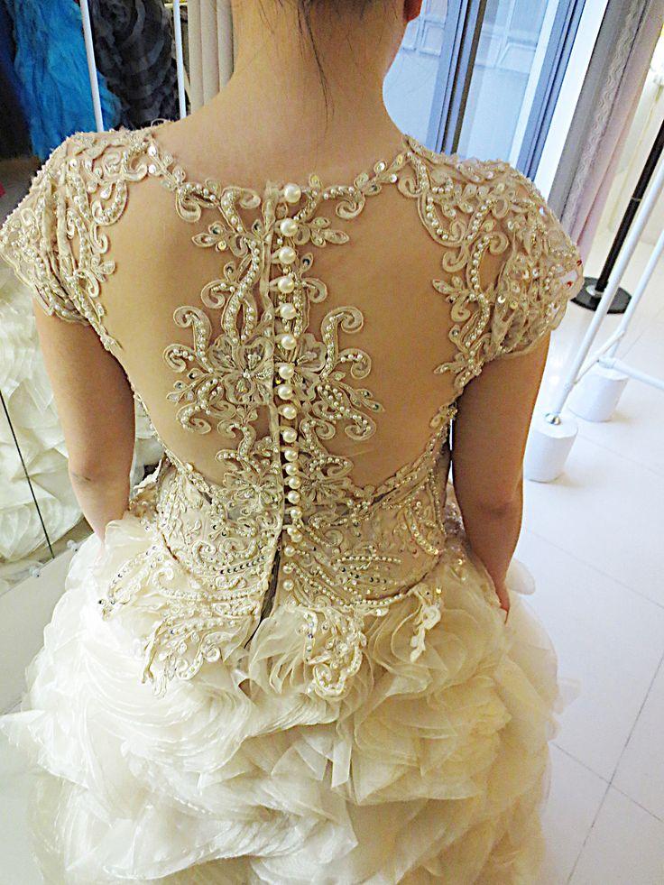 24 best Wedding Gown Manila images on Pinterest | Beadwork, Pearl ...