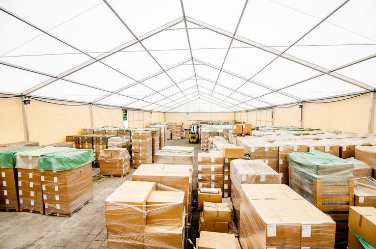 Storage structure in Otwock/ Hala magazynowa w Otwocku