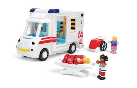 Pin this image of my review of the Robin's Medical Rescue Toy Ambulance to one of your Pinterest Boards.  ~Tom from A Medic's World