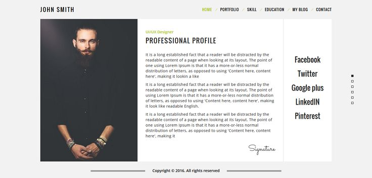 Resuma - Personal Portfolio \ Work Portfolio Responsive Resume - resume html template