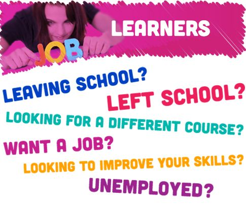 Learners!  Check out the new learner section for CLC programmes :)