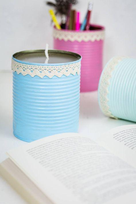Kerzen selber machen oder auch Kerzen Upcycling