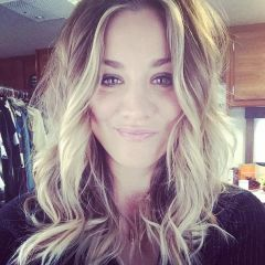 Did Kaley Cuoco Cut Her Hair? See the Photo Fake Out