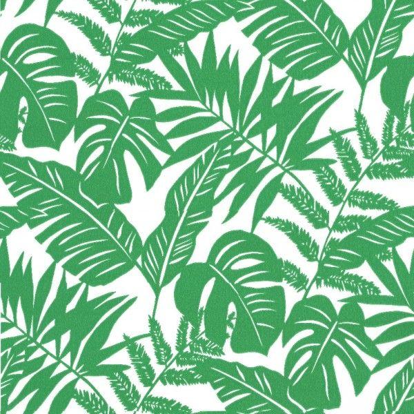 Papier peint tropical #bedroom #green #wallpaper