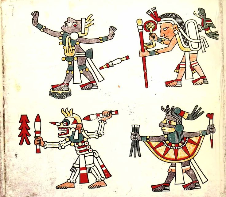 "Codex Laud ~ ""Maya codices (singular codex) are folding books stemming from the pre-Columbian Maya civilization, written in Maya hieroglyphic script on Mesoamerican bark cloth, made from the inner bark of certain trees..."" (text from en.wikipedia.org)"
