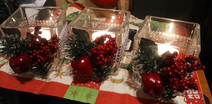 Candlesticks Christmas / Świeczniki Boże Narodzenie