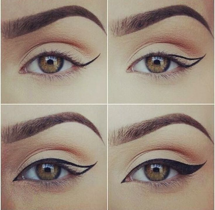 How to create a winged eyeliner
