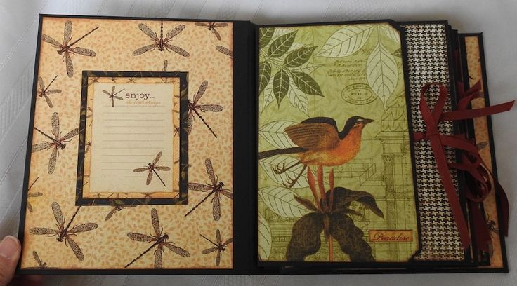 Clare Charvill Organiser w Graphic 45's Botanicabella pt9