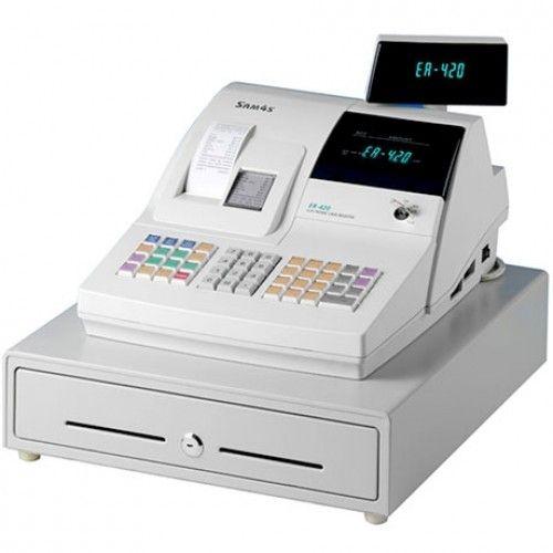 SAM4S Model ER-420M Two Printer Thermal Cash Register