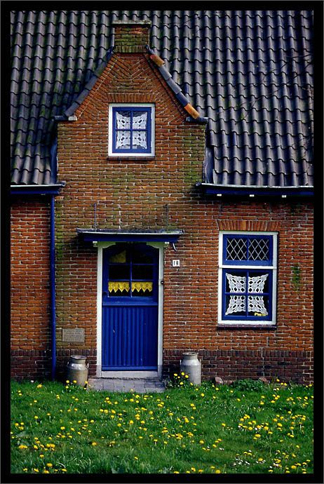 Village Muiden near Amsterdam