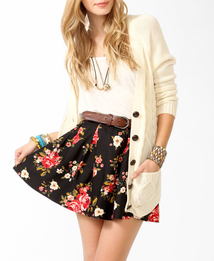 This outfit would be perfect for a spring date