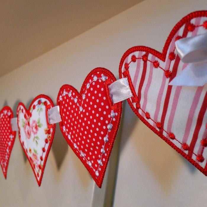 valentine day garland