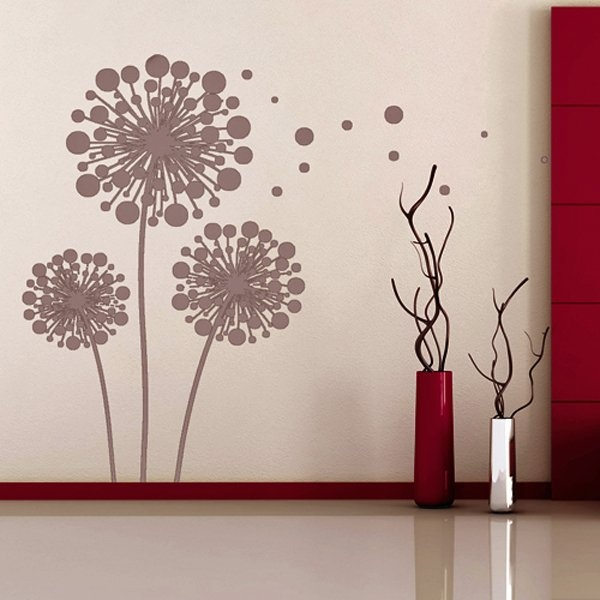 Dandelion Wall Decal - All Things Designer.