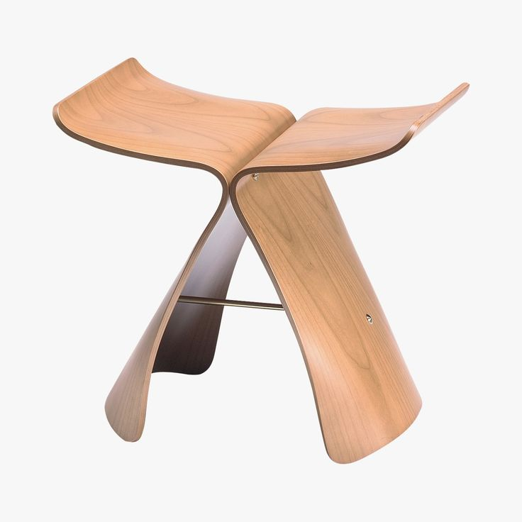 Tabouret Butterfly Stool Sori Yanagi, 1954 - VITRA - Find this product on Bon Marché website - Le Bon Marché Rive Gauche