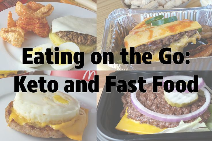 Eating Fast Food Keto ~ this is so good to know!!