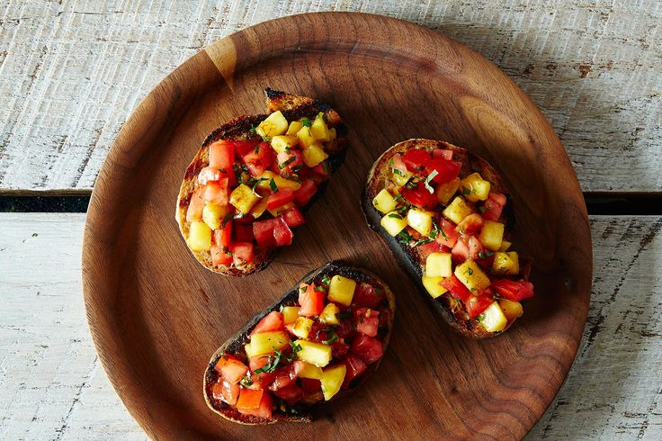 How to Make Bruschetta without a Recipe: https://food52.com/blog/10970-how-to-make-bruschetta-without-a-recipe #Food52