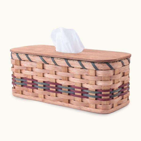 Amish Wicker Tank Topper Toilet Storage Organizing Basket Matching Toilet Storage Wicker Basket