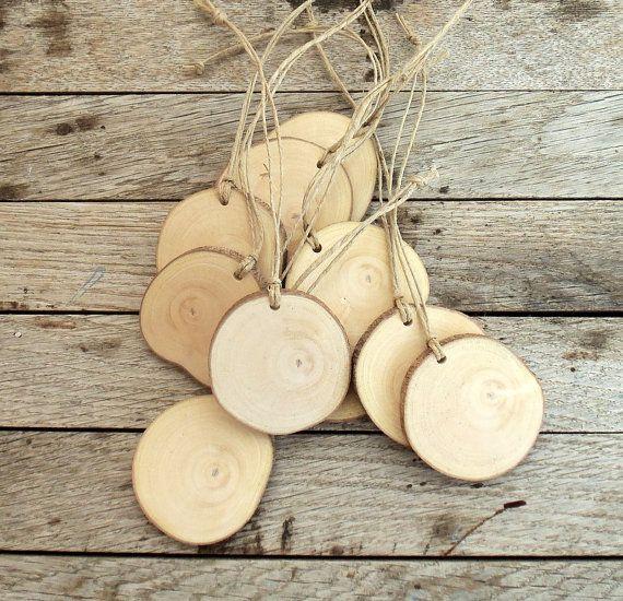 10 Blank Carob Tree Branch tags  Wedding by forestinspiration, $9.00