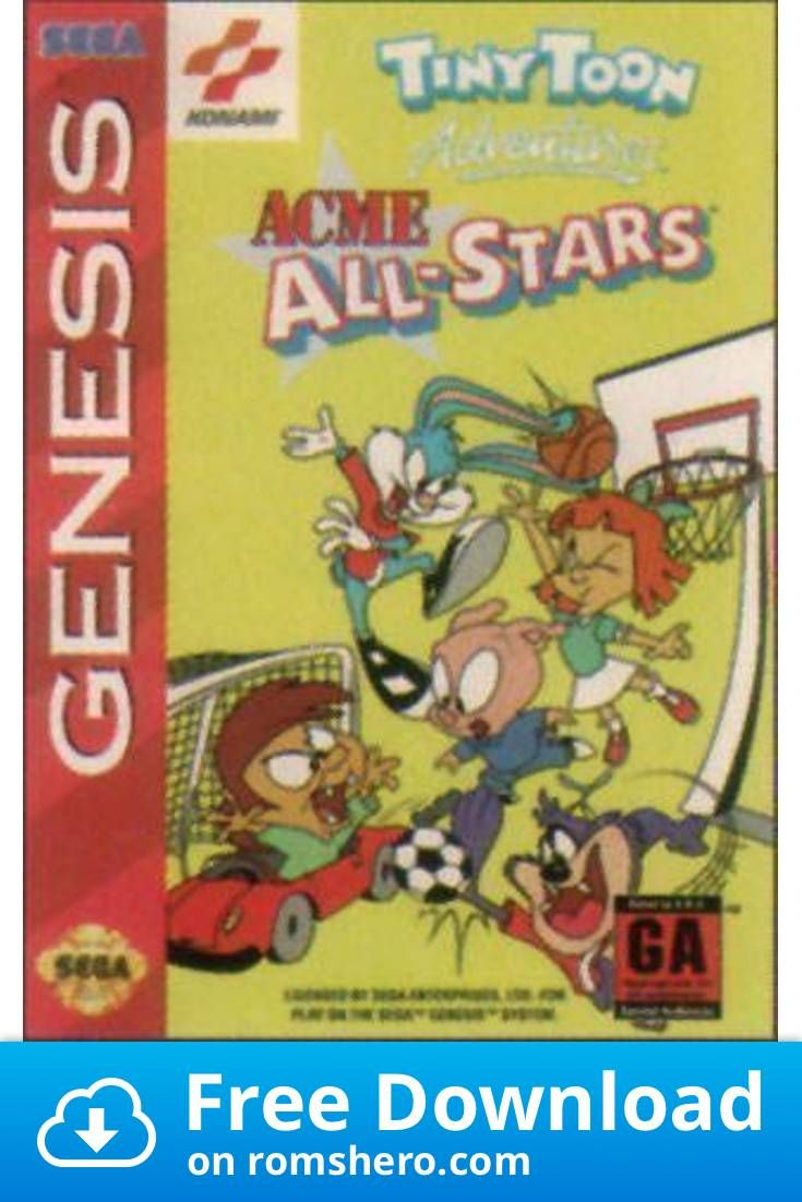 Download Tiny Toon Adventures Acme All Stars Sega Genesis
