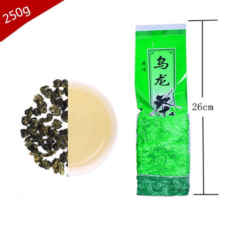 AliExpress Hot sale chinese Famous tea 250g Taiwan high mountains Jin Xuan Milk Oolong Tea Slimming health care China green food