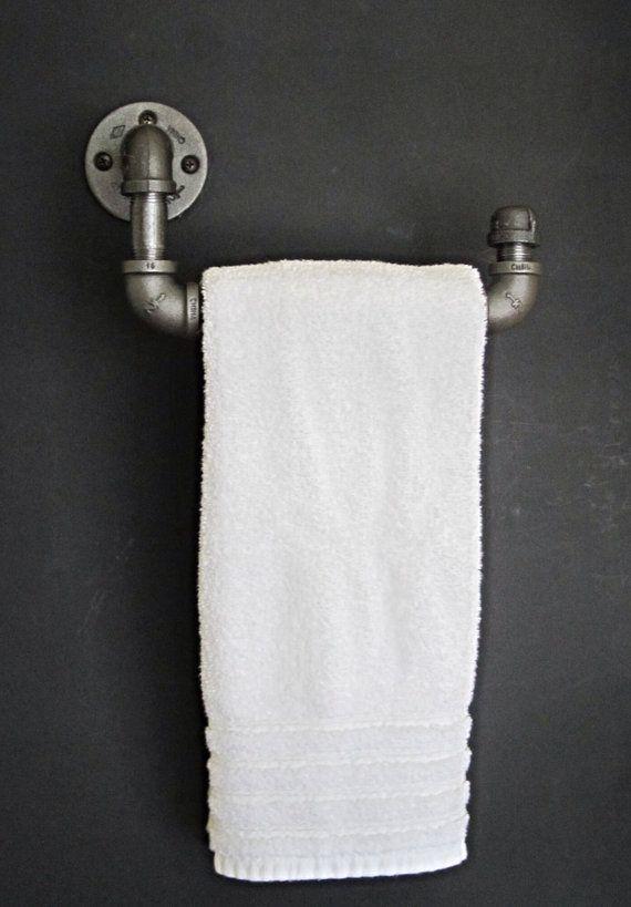 Industrial tube main porte-serviettes par IndustrialHomeBazaar