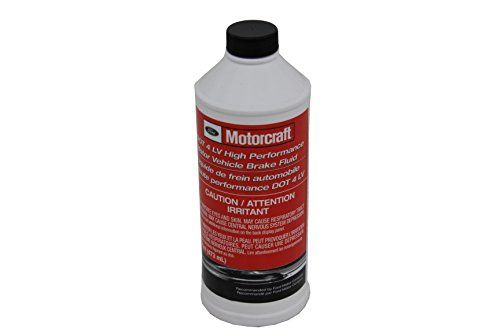 Genuine Ford Fluid PM-20 DOT-4 LV High Performance Motor Vehicle Brake Fluid  16 oz.