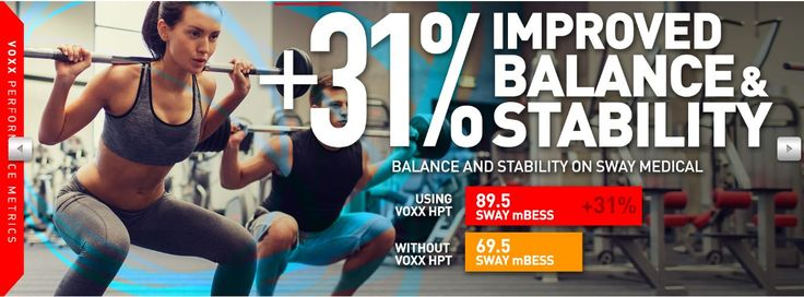 Improved balance and stability