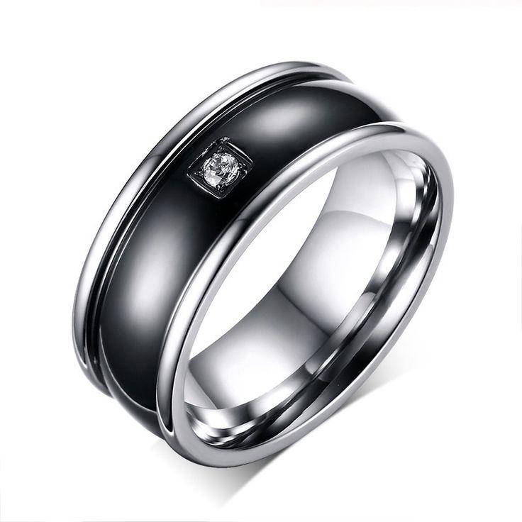 Free Personalized Engraving Ring - Titanium Rings