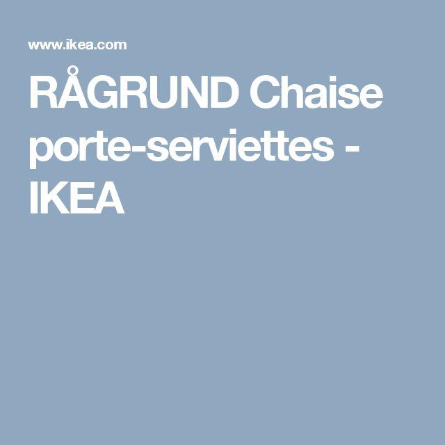 RÅGRUND Chaise porte-serviettes   - IKEA