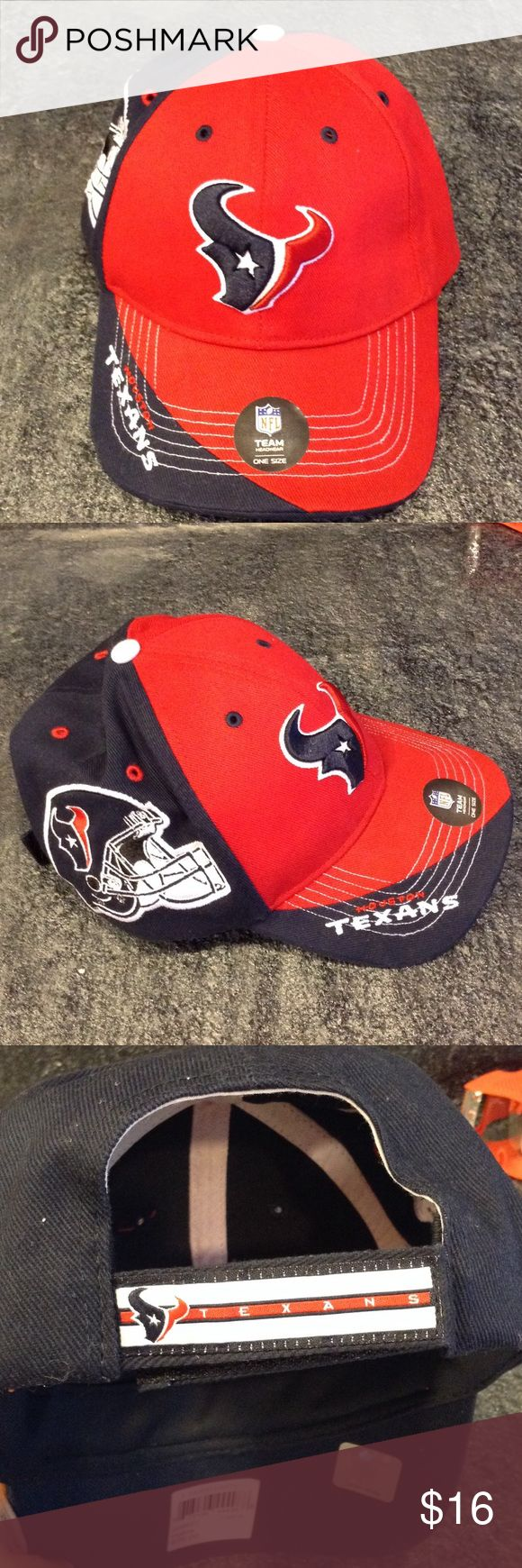 Houston Texans football cap NWT Texans Fans this is for you!! Ready to ship! forty seven Accessories Hats